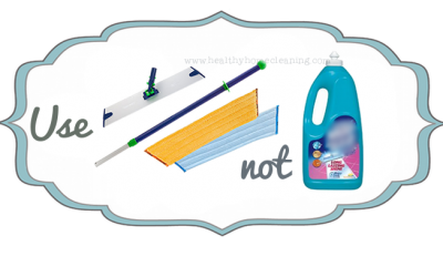 Use This, NOT That! Norwex Mop System vs. Chemical Disposable Mop Systems