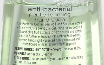 The Dangers of Triclosan in Household Cleaners, Soaps, and Personal Care Products