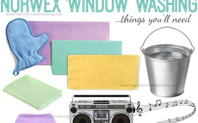 Spring Cleaning Windows With Norwex!
