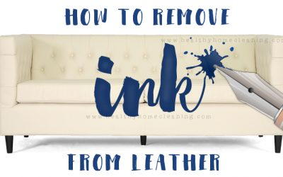 How to Remove Pen From Leather