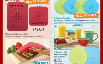Norwex Silicone Lids: A Review