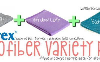 Check out Norwex's new MVP: Microfiber Variety Pack!!