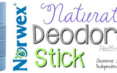 Wow; check out the NEW Norwex Natural Deodorant Stick