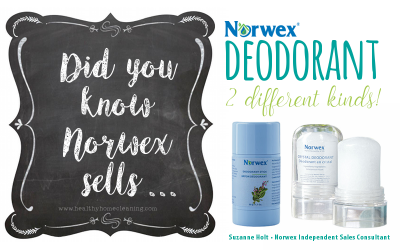 Did You Know That Norwex Sells… Deodorant?