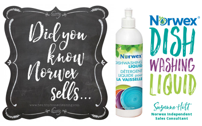 Did You Know That Norwex Sells Green Dish Soap?