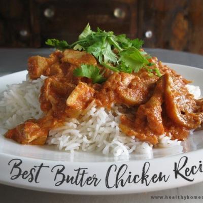 the BEST Indian Butter Chicken Recipe!