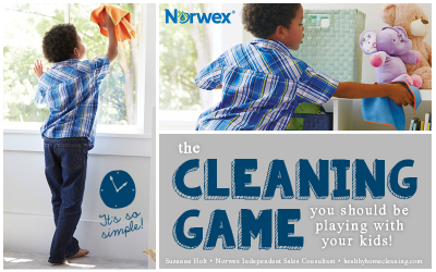The Cleaning Game You Should Be Playing with Your Kids
