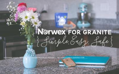 Norwex for Granite {Simple, Easy, Safe}
