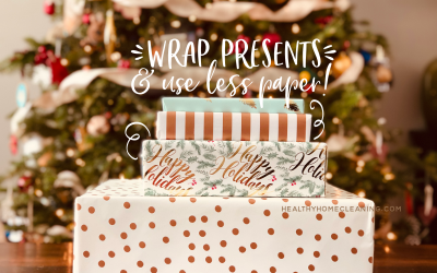 Diagonal Wrapping ~ Wrap your Presents with LESS Paper!