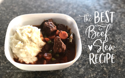 I-Could-Eat-the-Whole-Pot, Beef Stew & Creamy Mashed Potatoes