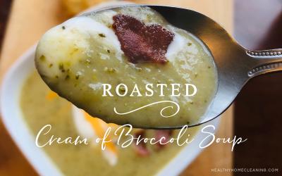 Roasted Cream of Broccoli & Potato Soup
