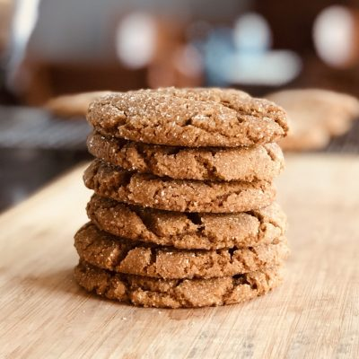 Perfect Ginger Molasses Cookies