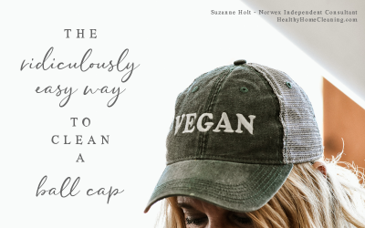 The Ridiculously Easy Way to Clean a Ball Cap {in the Dishwasher!}