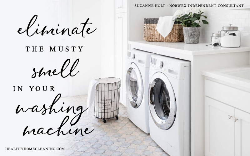 How To Eliminate the musty smell from your washing maching