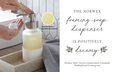 This Gorgeous Glass Foaming Soap Dispenser is a Dream!