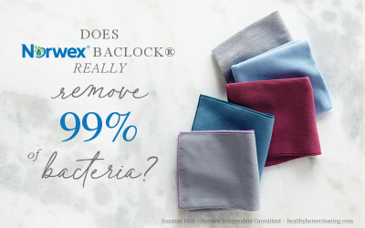 Does Norwex Microfiber REALLY remove 99% of bacteria?