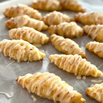 Sweet homemade crescent rolls