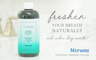 Freshen your breath naturally and help solve dry mouth!
