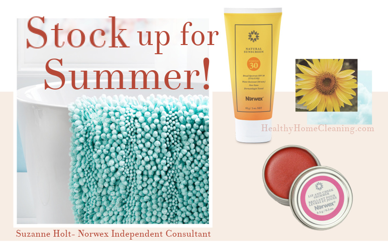 Get Norwex deals on Limited Edition products and be Ready for Summer Adventures and Occasions!