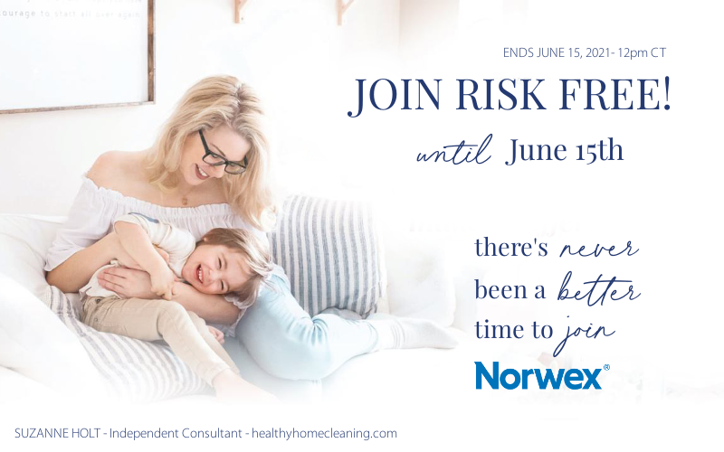Sign Up – RISK FREE – with the Norwex Virtual Kit – EXTENDED until June 15th!