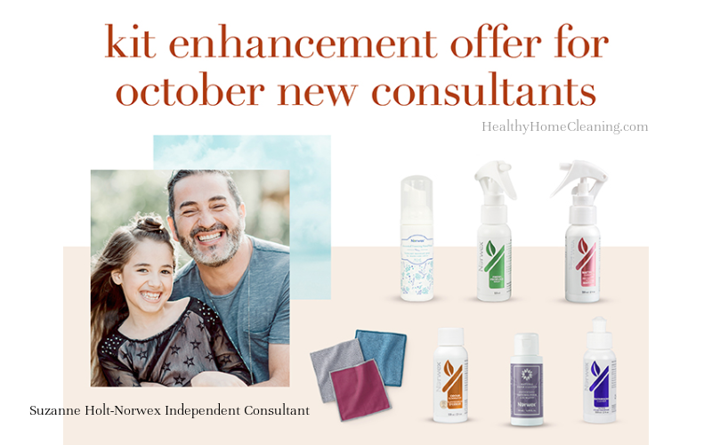 Join Norwex in October and Start your Norwex Business in Time for Holiday Shopping!