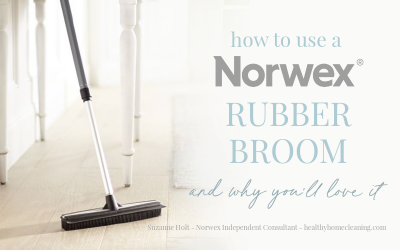 How to Use a Norwex Rubber Broom